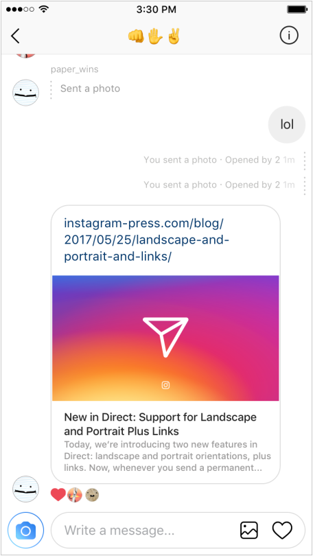 instagram-direct-links