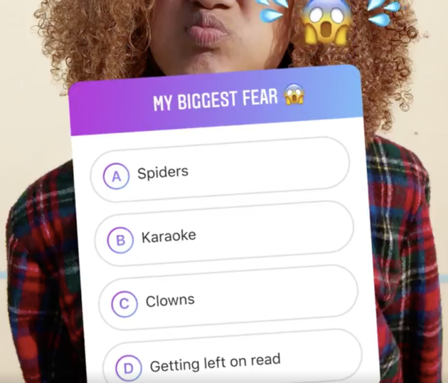 Instagram Stories Quiz