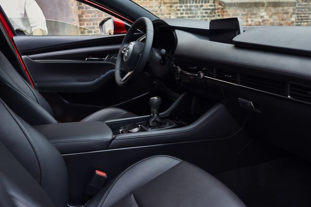 Interieur Mazda3 Soul Red Crystal