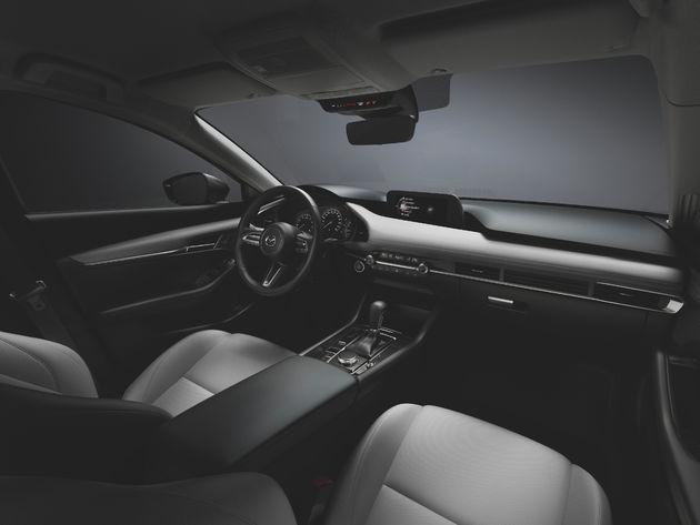 Interieur nieuwe Mazda3