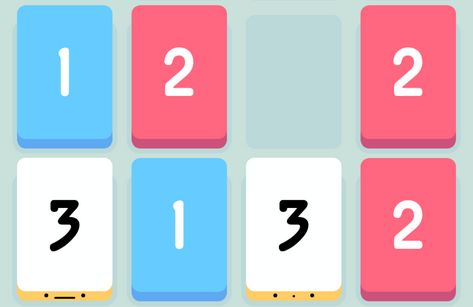 iOS puzzelaar Threes! heeft je 1-2-3 te pakken