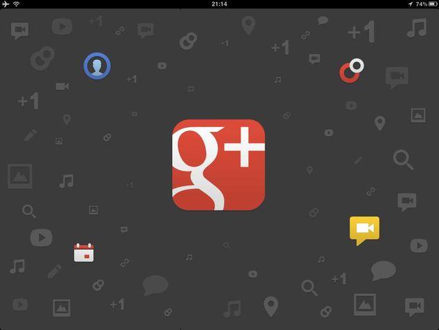 iPad app voor Google+