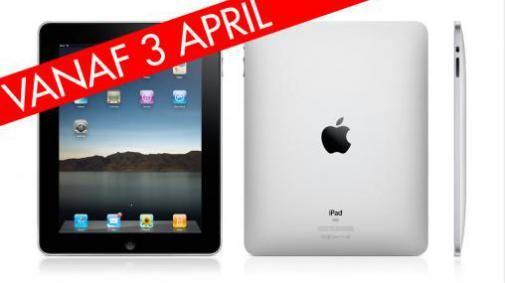 iPad vanaf 3 april verkrijgbaar