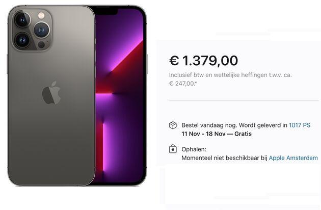 iPhone-13-Levertijd