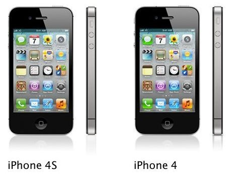iPhone 4 vs iPhone 4S [Infographic]
