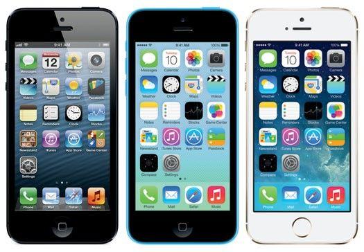 iPhone 5 5c en iPhone 5s
