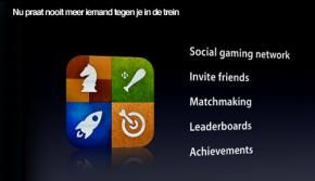 iPhone, iPad, iPod krijgen Game Center