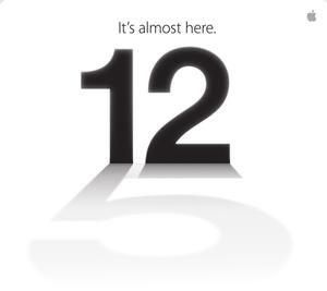 iPhone5 het aftellen naar 12 september is begonnen