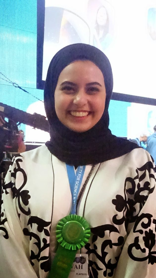 ISEF2015 INTEL Grand Awards Saoedi arabie Lulwah Ziyad Alshiha