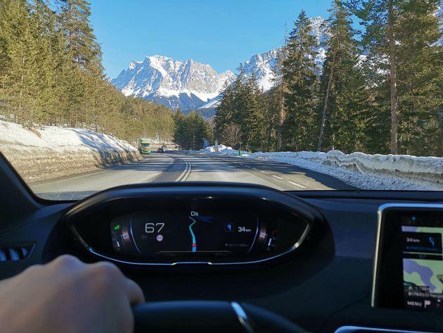Italiaanse Alpen Icockpit