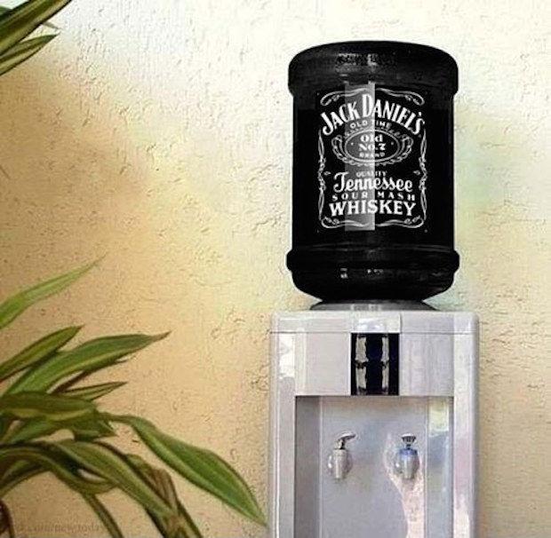 jack daniels water tank