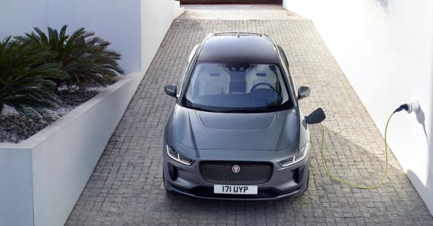 Elektrische Jaguar I Pace Suv Om Verliefd Op Te Worden