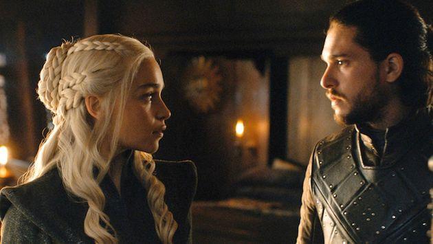 Jon en Daenerys