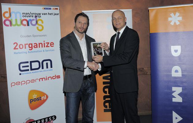 Joris Merks (Google) DM Man van het jaar 2012