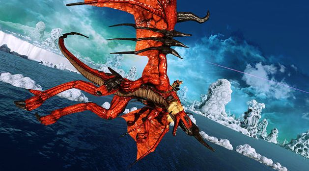 Kan Crimson Dragon de Kinect cool maken? (ja)