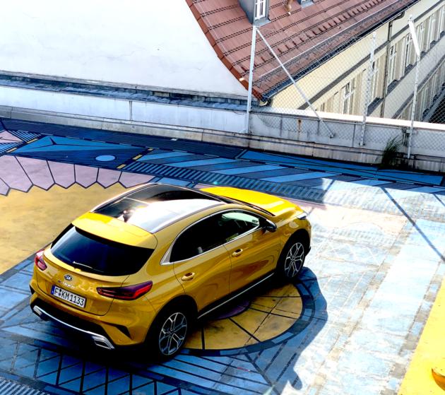Kia XCeed Quantum Yellow