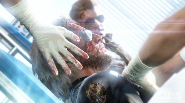 Kiefer Sutherland is Snake in Metal Gear Solid 5