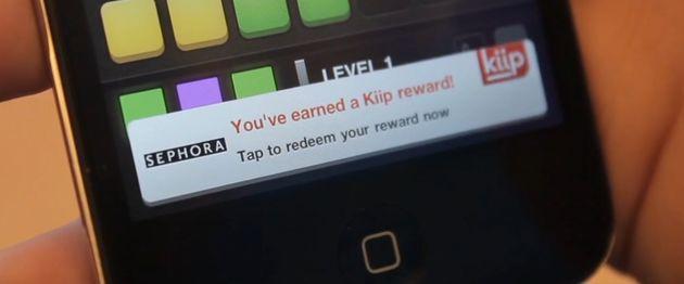 Kiip: echte beloningen voor je achievements