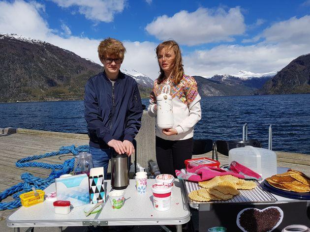 Kinderen Noorwegen