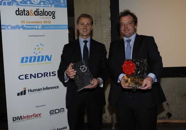KLM wint Customer Data Award & Publieksprijs 2012