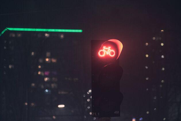 Knopje stoplicht