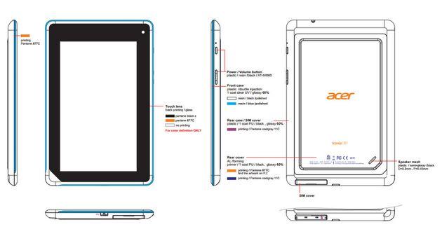 Komt Acer met een Android tablet voor 99 dollar?