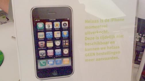 Koop een iPhone 3GS, waar dan?
