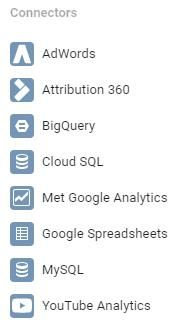 Koppelingen Google Data Studio