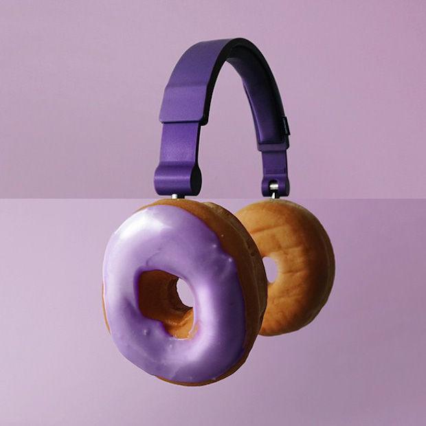 koptelefoon+donuts