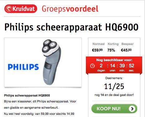 Kruidvat lanceert groepsvoordeel via Facebook