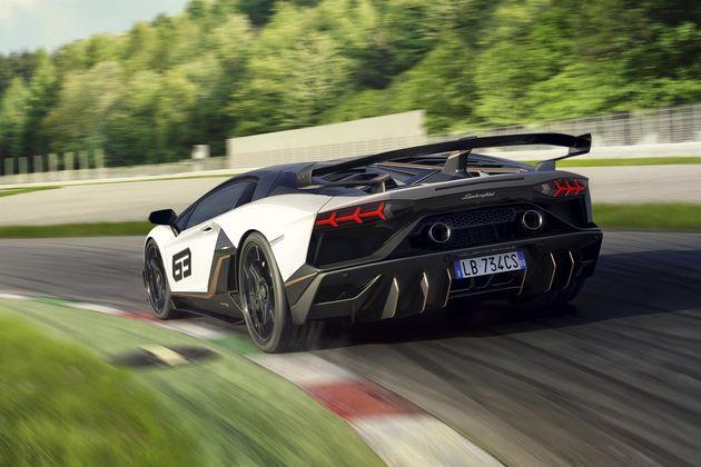 Lamborghini Aventador SVJ-1