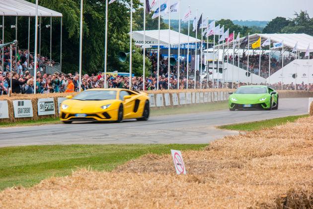 Lamborghini's hillclimb