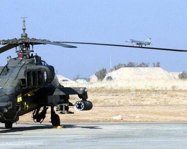 landen op de helikopter