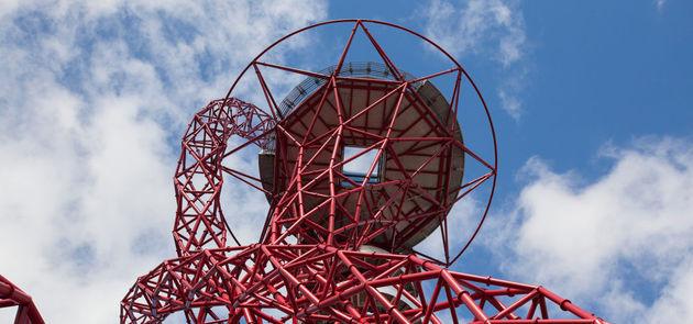 Langste glijbaan ter wereld london