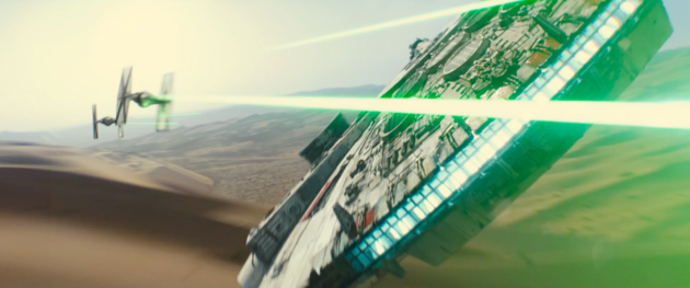 Laserkanonnen Star wars