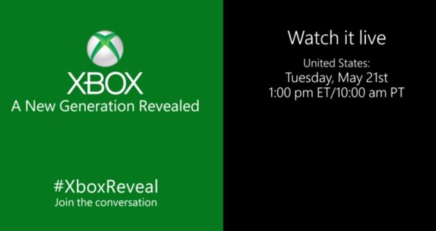 Later vandaag: Next-Gen (Durango) Xbox live event