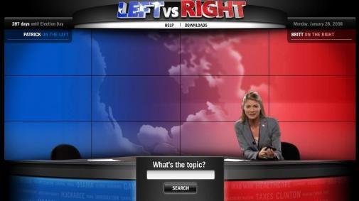 Leftvsright.com, zoekmachine voor de verkiezingen