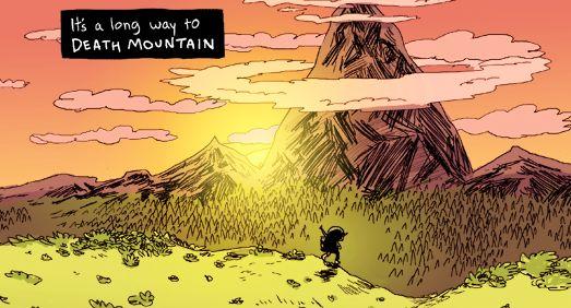 Legend of Zelda comics: second base