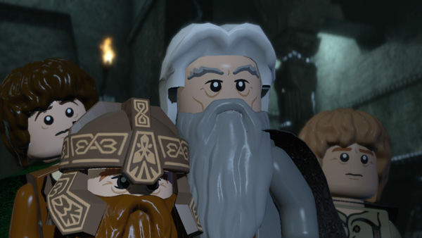 Lego Lord of the Rings: Midden-Aarde in bouwstenen