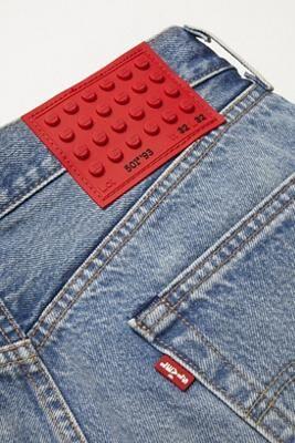 Levi's LEGO jeans dots