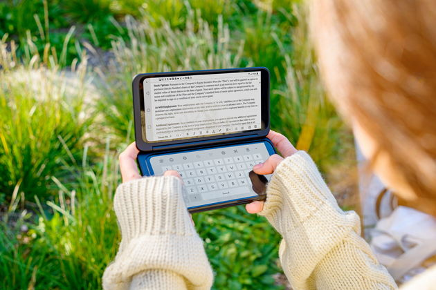 LG start ook in Nederland verkoop van Dual Screen G8X ThinQ