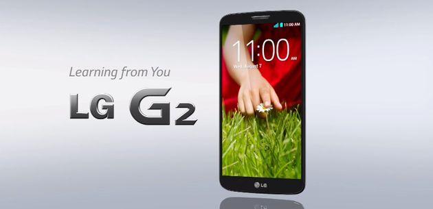 LG presenteert nieuwe smartphone: de LG G2