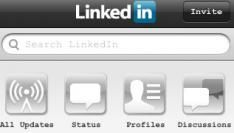 LinkedIn iPhone App update