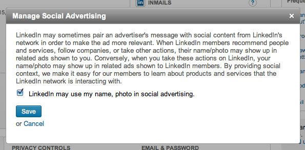 Linkedin misbruikt zonder toestemming je gegevens