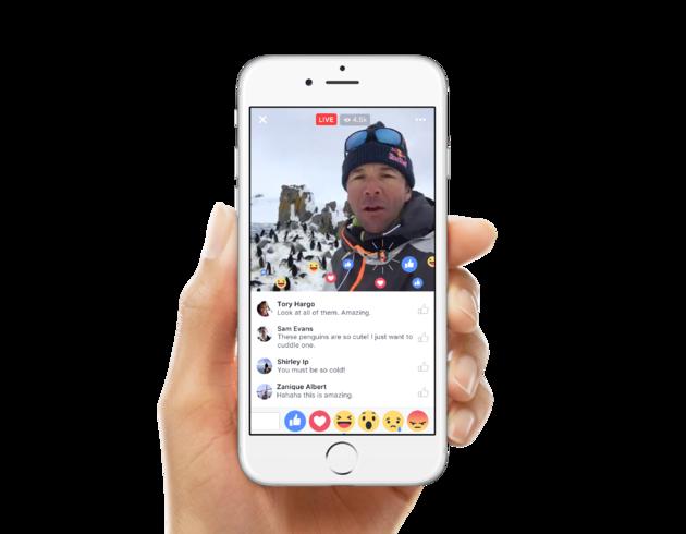 Livestream Facebook reacties DutchCowboys