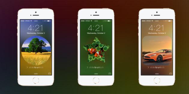 Lockscreen: Nooit meer een achtergrond zoeken voor je iPhone