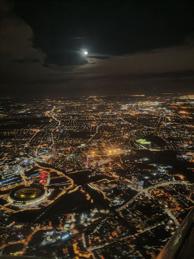 Londen bij nacht met OPPO Reno2