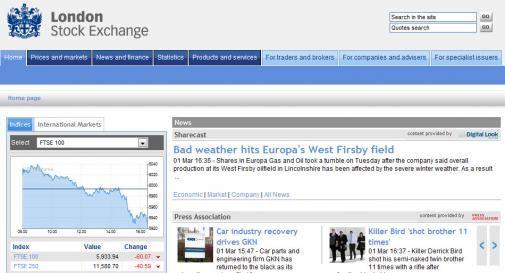 London Stock Exchange slachtoffer Malvertising