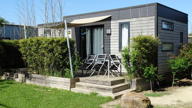 Luxery mobile home vakantiepark Domaine de la Dragonnière