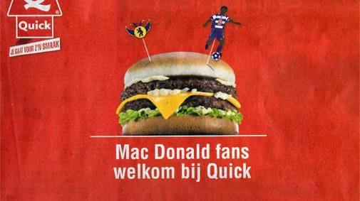 Mac Donald fans welkom bij Quick